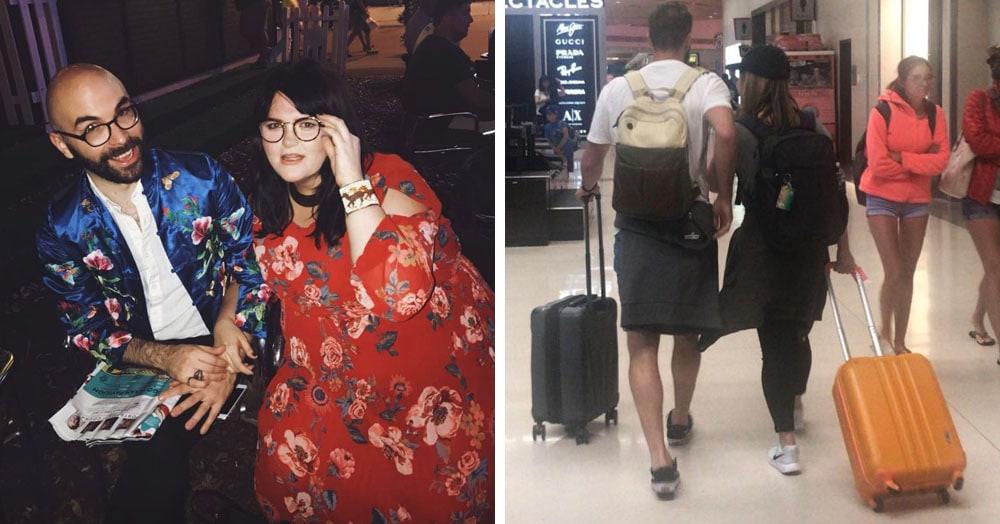 Девушка поменялась местами с соседкой по самолёту и стала причиной любовной истории, больше похожей на фильм