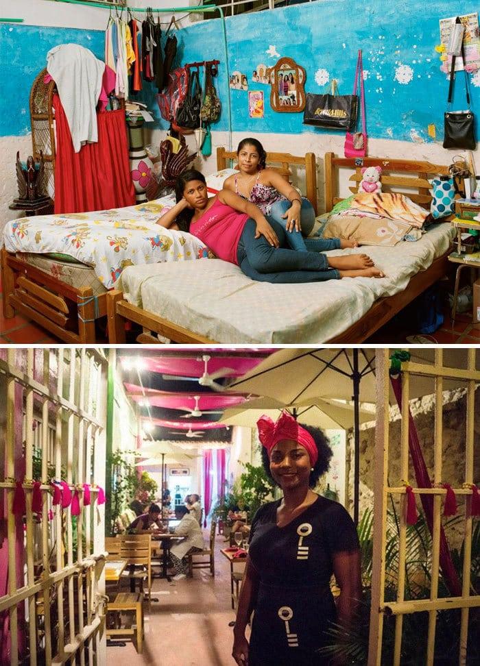 Сан-Диего средней женской тюрьмы, Картахена, Колумбия