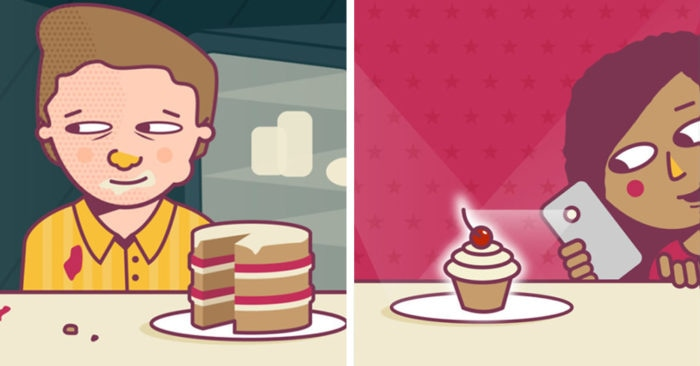 11 шуточных типов едоков, с которыми вы точно сталкивались. А может, и найдёте себя