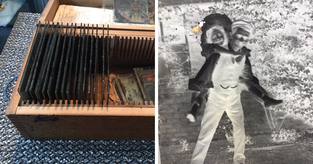 Британец купил на барахолке ящик со старыми негативами. Шерлоки из Твиттера пытаются раскрыть их тайну