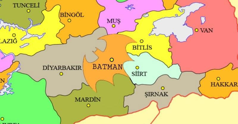 Тысячи людей подписали петицию, чтобы сделать одну турецкую провинцию похожей на символ Бэтмена