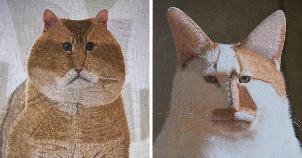 Девушка рисует забавно искажённые портреты животных, и глядя на них невозможно сдержать смех
