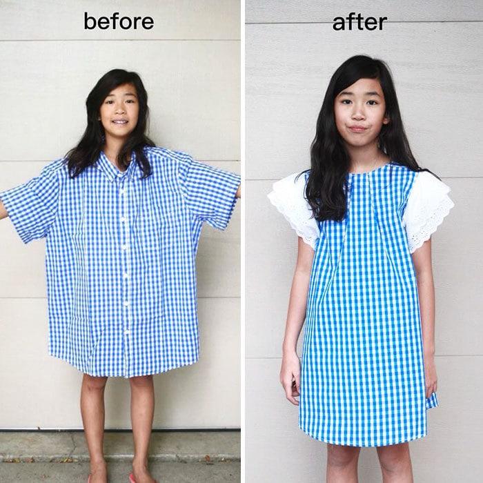 Преобразование старой одежды