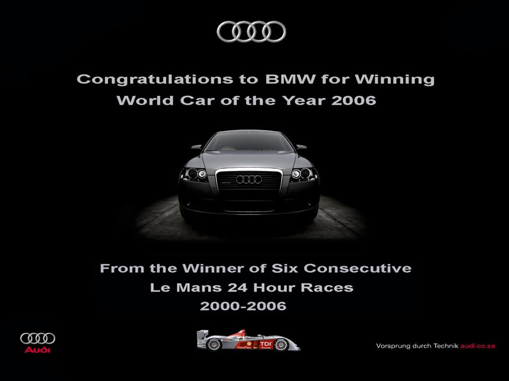 Война брендов продолжается: Audi подколол BMW за новый рекламный плакат, но там нашли, что ответить 9