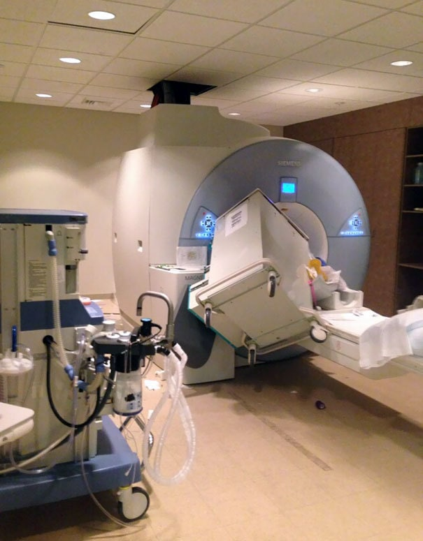 Someone Forgot That MRIs Are Giant Magnets
