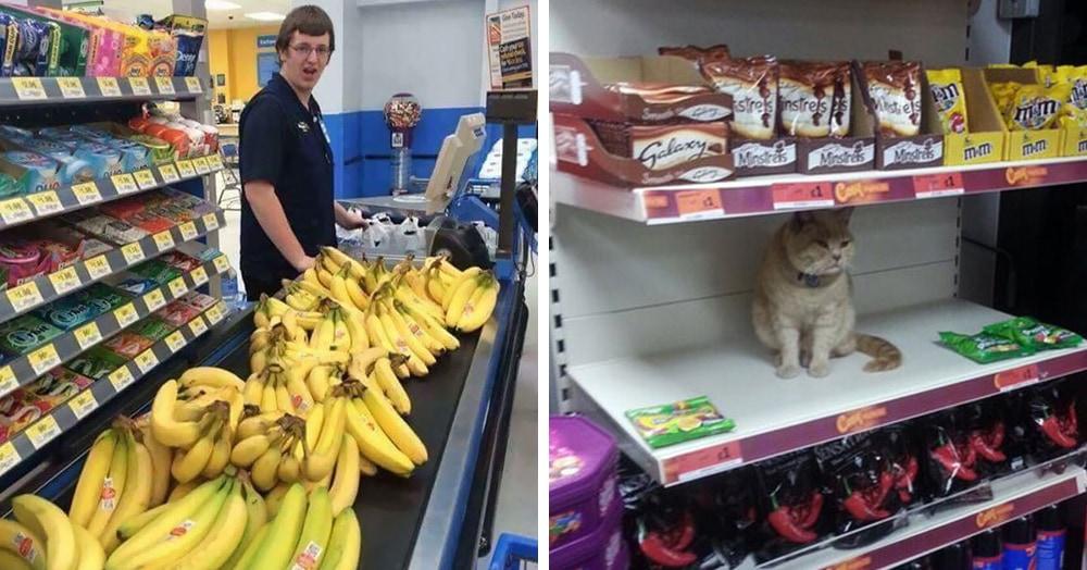 15 фотодоказательств того, что поход в магазин может быть весёлым — если смотреть по сторонам