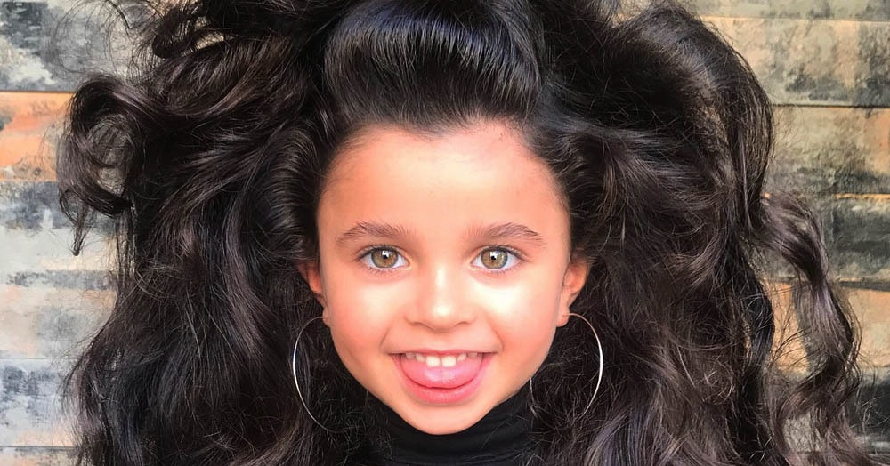 Эта девочка из Израиля стала знаменитой благодаря своим волосам, ведь им позавидует даже Рапунцель