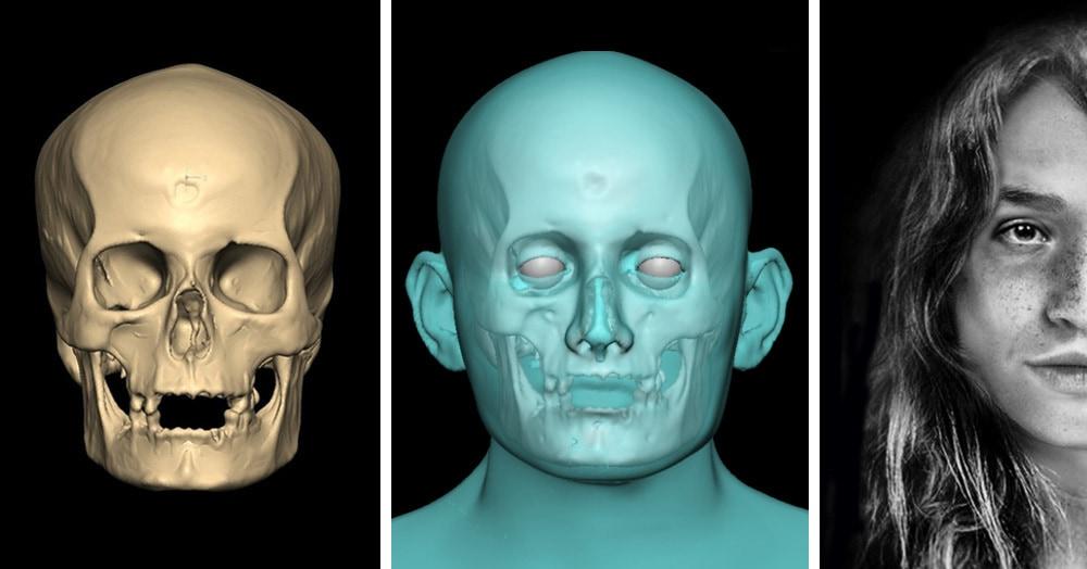 Студентка восстановила лицо девушки с Канарских островов, племя которой исчезло почти 600 лет назад
