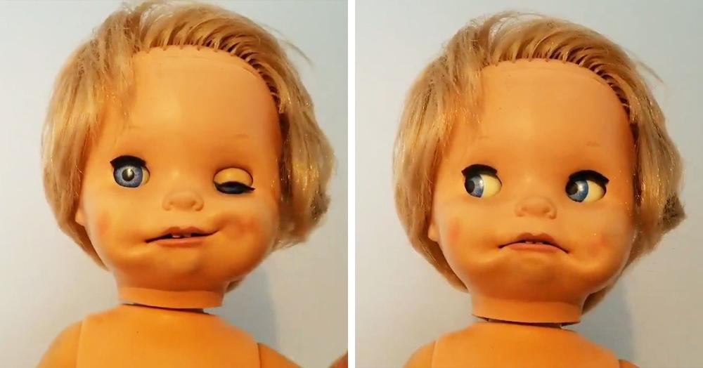 Женщина вернулась в дом, где выросла, и нашла там куклу. Игрушка оказалась страшнее, чем она запомнила