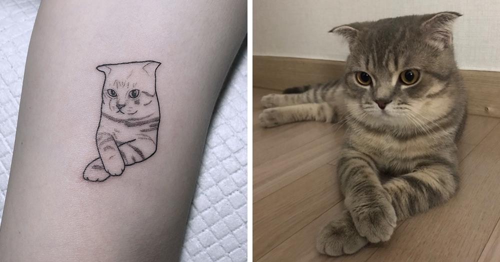 Мастер из Южной Кореи делает минималистичные татуировки по фотографиям. Узнаваемо и ничего лишнего