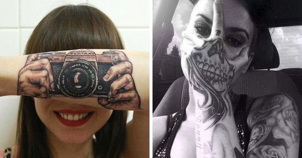 17 татуировок, которые так хорошо дополняют человеческое тело, что лучше не придумаешь