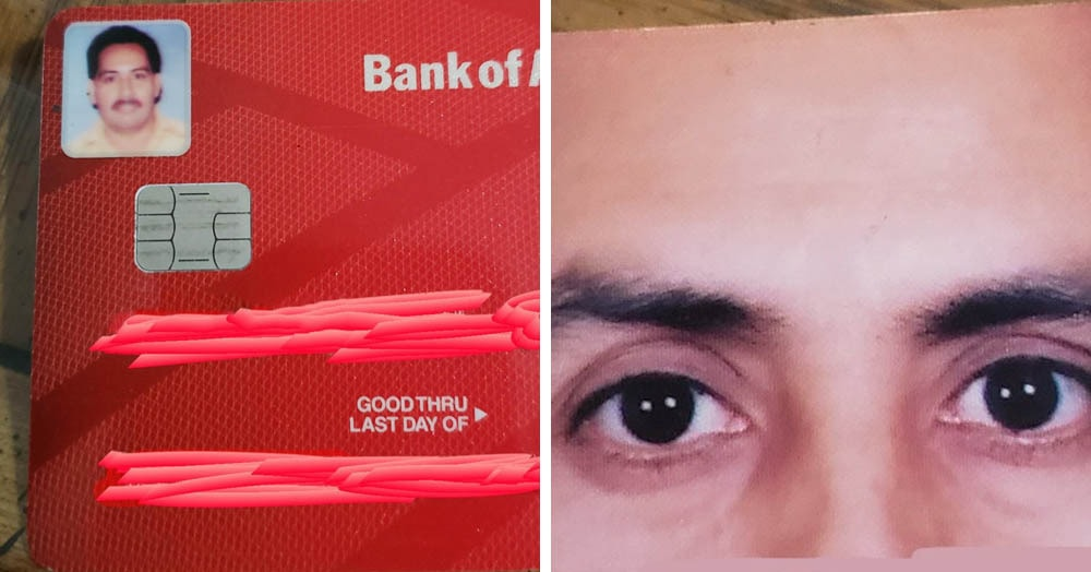 Мужчина заказал кредитку со своим фото, вот только не уточнил детали.  А стоило
