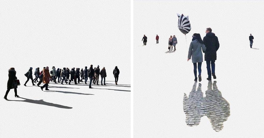Фотограф показал, как выглядят снимки Петербурга, если убрать с них сам Петербург. И там есть, на что посмотреть