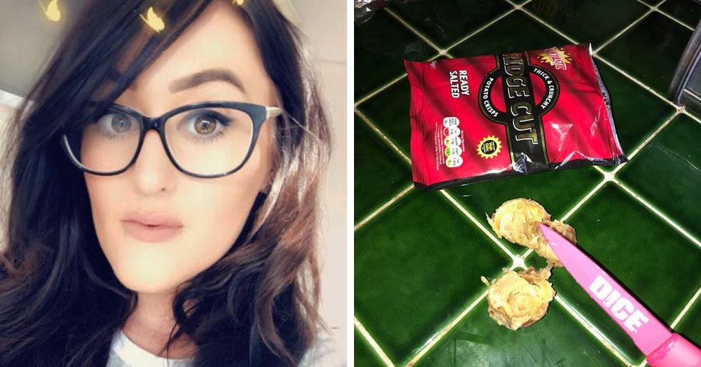 Британка купила пакетик чипсов, но никак не думала, что приготовить их ей придётся самой