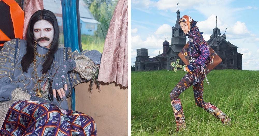 Итальянский Vogue устроил фотосессию в русской деревне, вызвав неоднозначную реакцию среди читателей