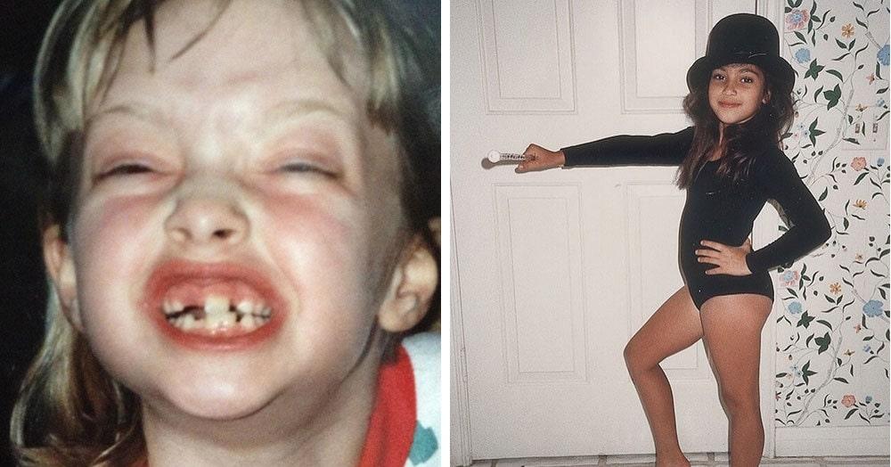 Знаменитости поделились своими детскими фотографиями. И кто мог предположить, что это будущие звёзды?