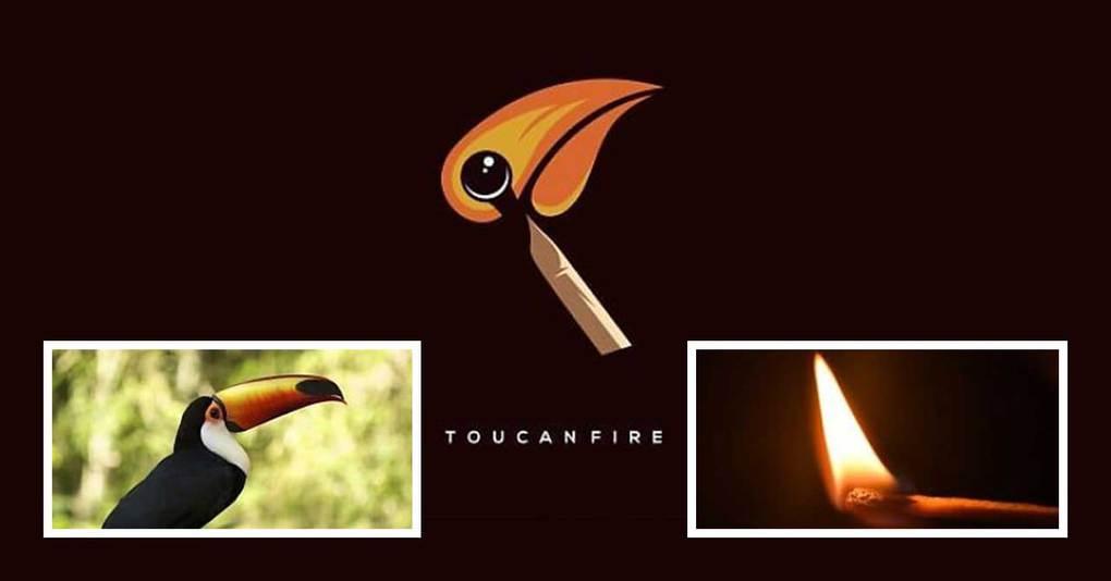 Дизайнер из Индонезии берёт две несовместимые вещи и создаёт из них логотип. Как? А вот так!