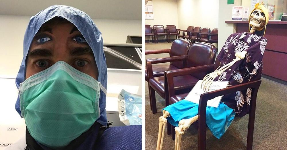 17 фотографий, которые доказывают, что врачи обладают ни с чем не сравнимым чувством юмора