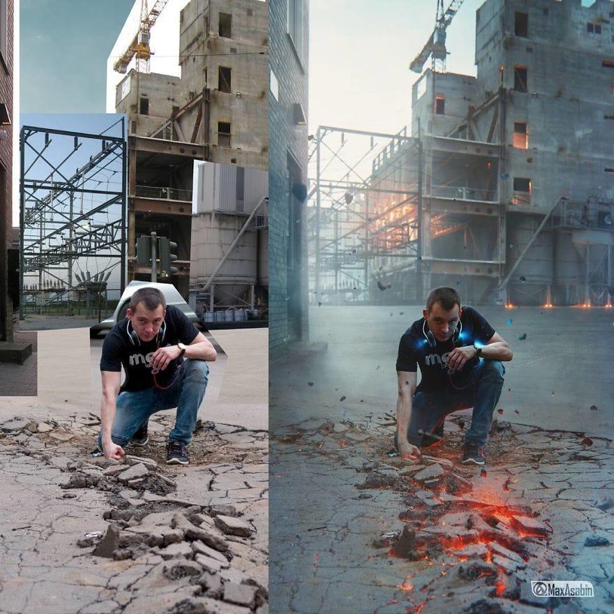 25 впечатляющих работ от настоящего мастера фотошопа, возможности которого ограничиваются лишь его фантазией 1
