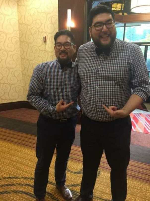 My Friend Met A Stranger At A Wedding That Looked Just Like Him And Was Wearing The Same Thing