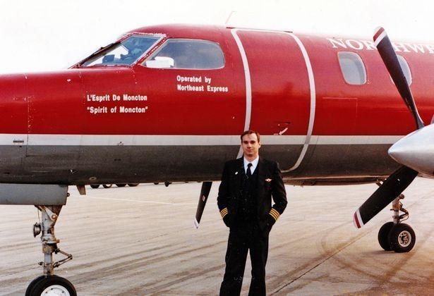 Patrick is pictured with a Metroliner in 1994