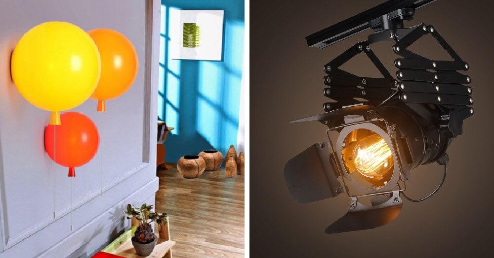 25 оригинальных светильников с AliExpress, которые станут ярким акцентом в любом интерьере
