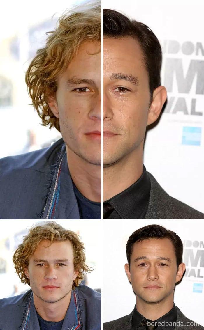 Heath Ledger And Joseph Gordon-Levitt