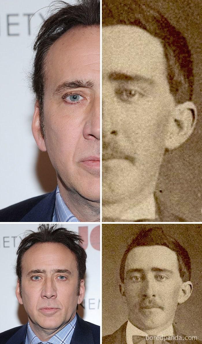 Nicolas Cage And A Civil War-Era Man