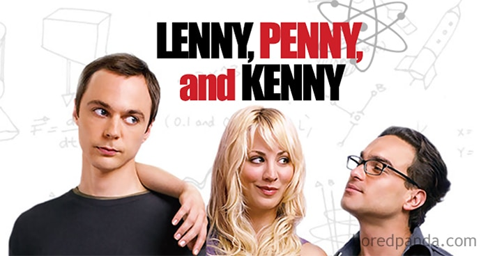 Lenny, Penny, And Kenny - The Big Bang Theory