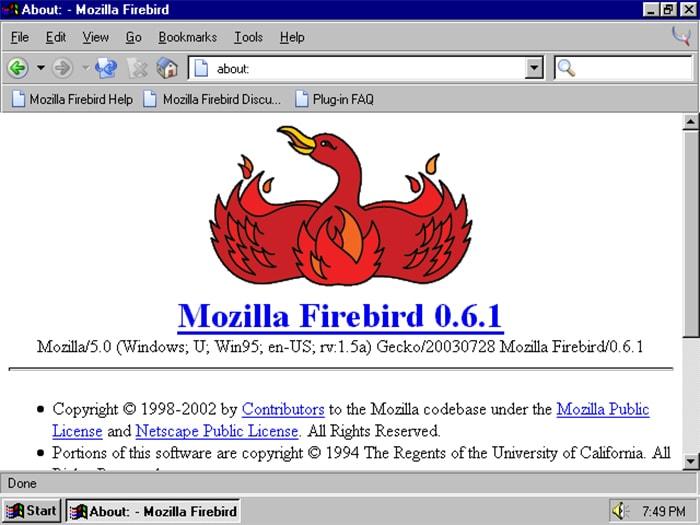 Firebird - Firefox