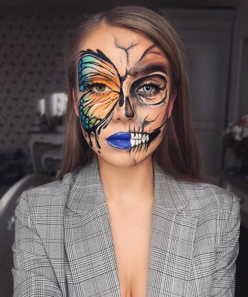 Визажист из Литвы делает макияж, с которым на Хэллоуине любая будет звездой вечеринки 4