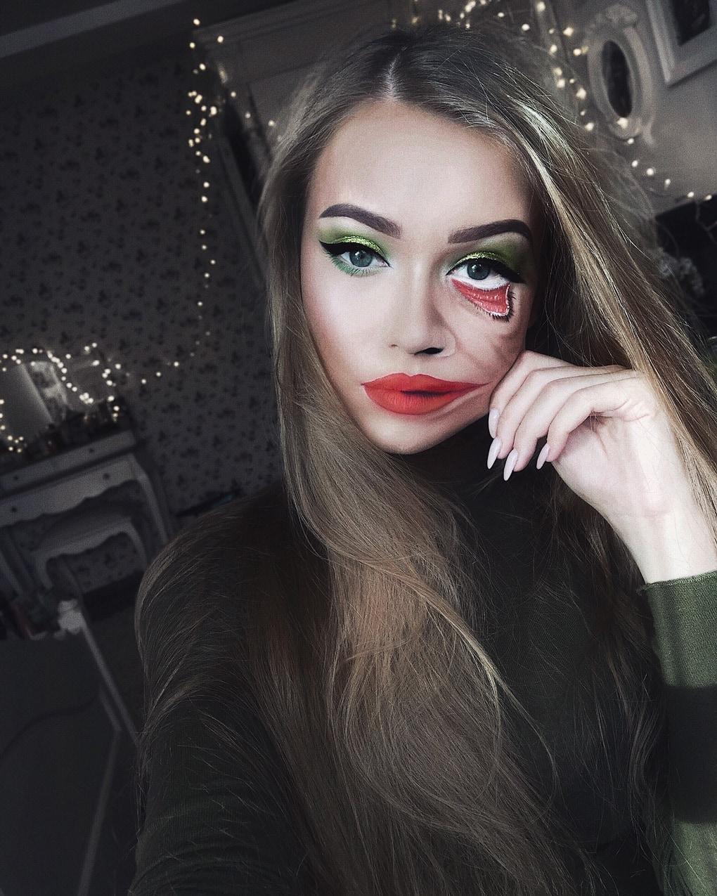 Визажист из Литвы делает макияж, с которым на Хэллоуине любая будет звездой вечеринки 5