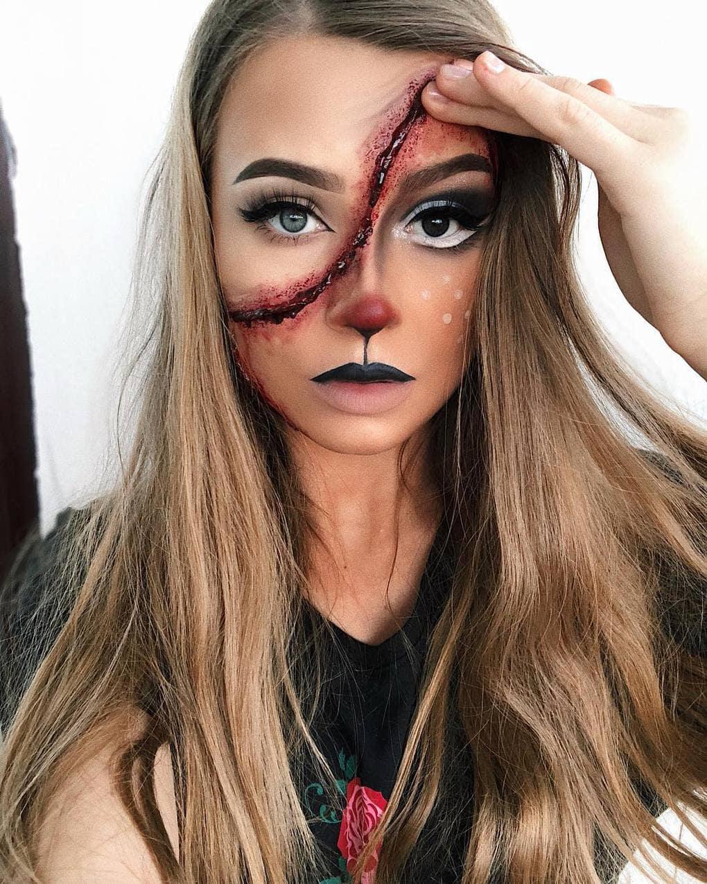 Визажист из Литвы делает макияж, с которым на Хэллоуине любая будет звездой вечеринки 6