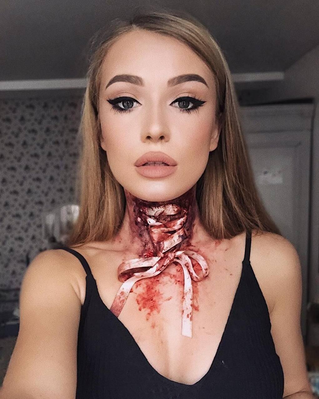 Визажист из Литвы делает макияж, с которым на Хэллоуине любая будет звездой вечеринки 7