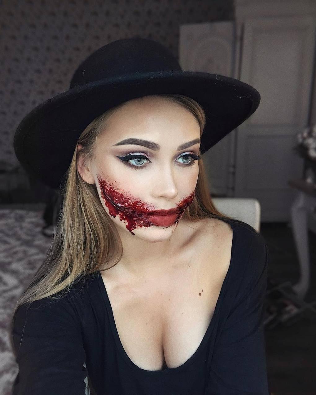 Визажист из Литвы делает макияж, с которым на Хэллоуине любая будет звездой вечеринки 8