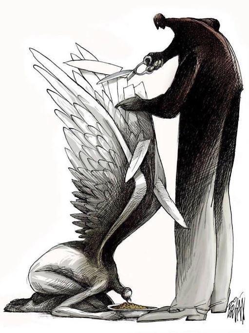 30 ироничных карикатур мексиканского художника, в которых слишком много правды 5