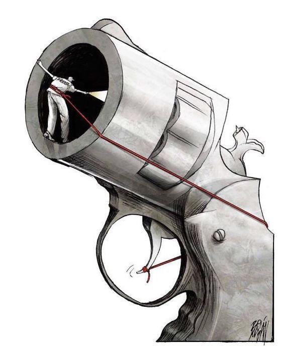 30 ироничных карикатур мексиканского художника, в которых слишком много правды 8