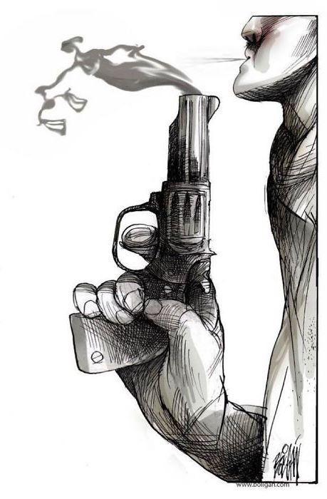 30 ироничных карикатур мексиканского художника, в которых слишком много правды 6