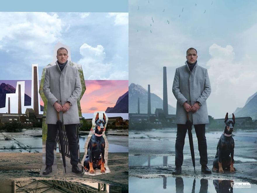 25 впечатляющих работ от настоящего мастера фотошопа, возможности которого ограничиваются лишь его фантазией 15