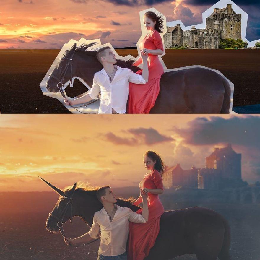 25 впечатляющих работ от настоящего мастера фотошопа, возможности которого ограничиваются лишь его фантазией 11