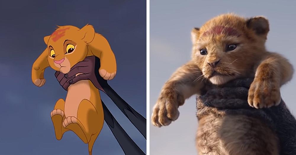 На YouTube сравнили кадры тизера нового «Короля Льва» с оригинальным мультфильмом