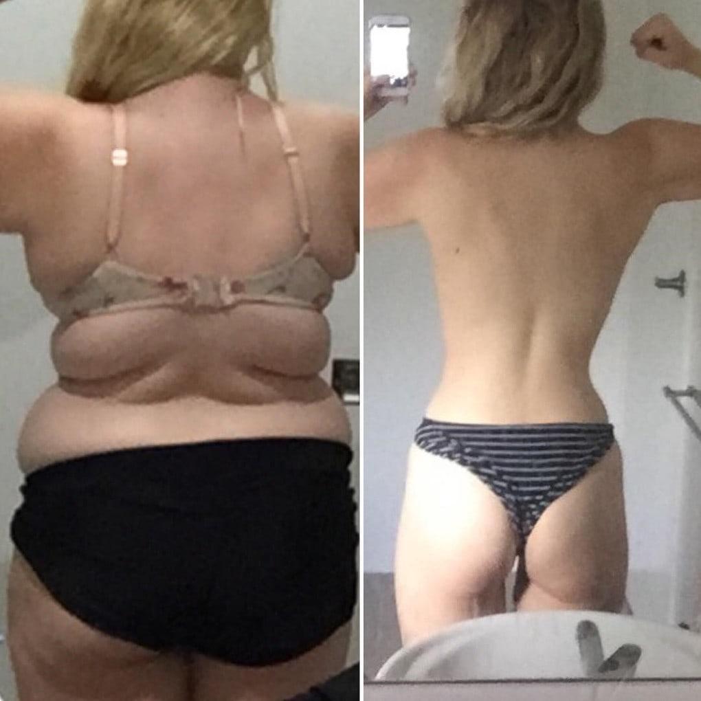 Этой юной леди из Австралии удалось похудеть на 64 кг. Всё из-за желания надеть шикарное выпускное платье 10