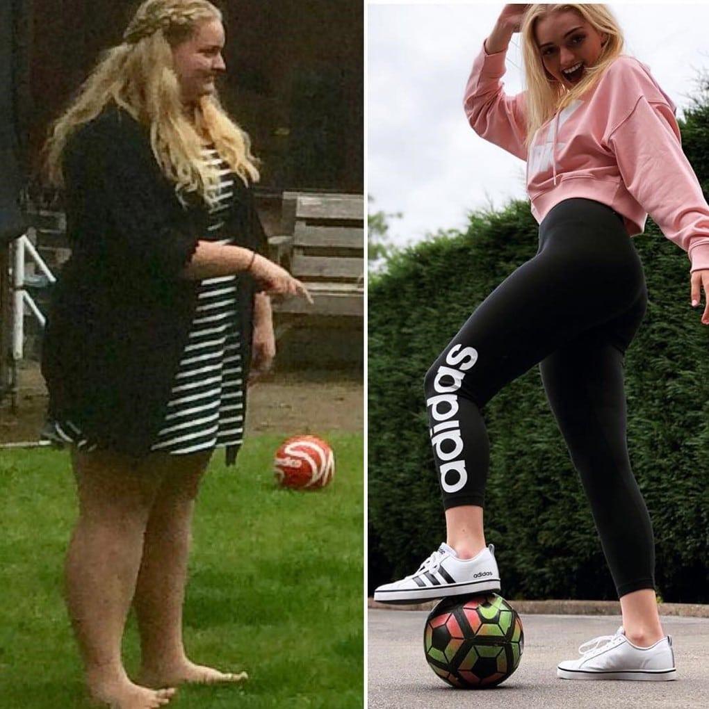 Этой юной леди из Австралии удалось похудеть на 64 кг. Всё из-за желания надеть шикарное выпускное платье 11