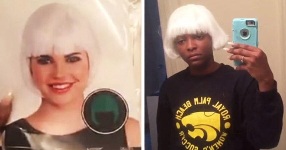 Девушка поделилась с пользователями сети своей неудачной покупкой парика. Оказалось, что она не одна такая