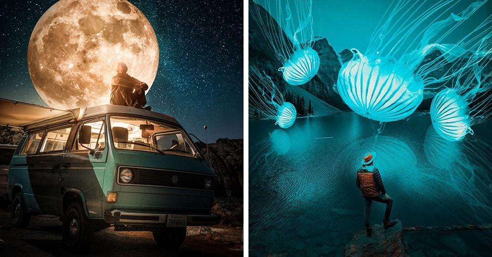 19-летний житель Индонезии стал мастером фотошопа и теперь визуализирует все свои мечты и фантазии