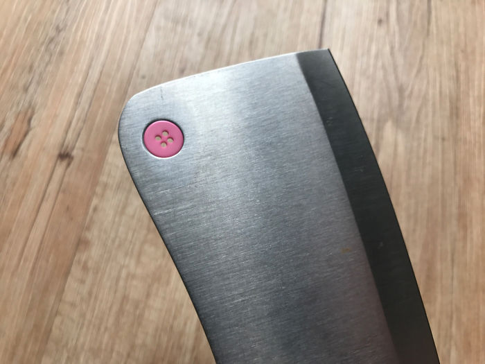 This Button In My Cleaver