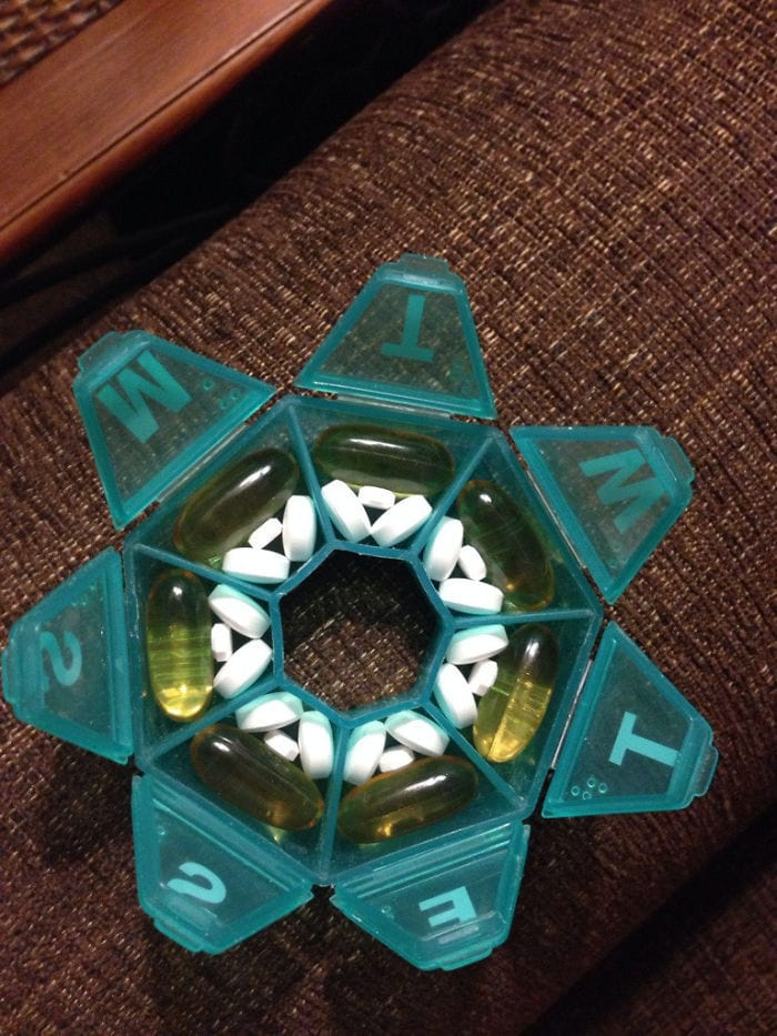 Only Way All My Pills Fit In The Container