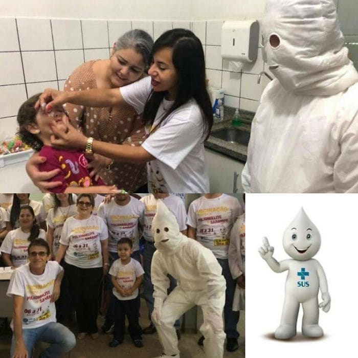 The Brazilian Vaccination Mascot Looks Like Kkk