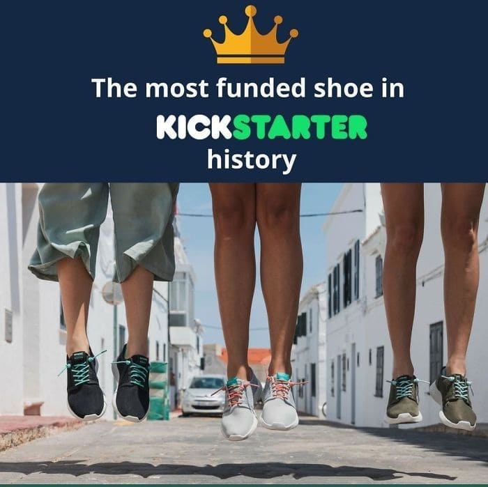 This Ad For A Shoe Looks Like The Three People Have Hung Themseves