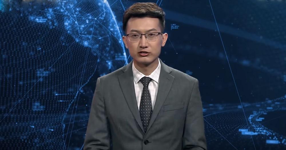«А ведущий-то у вас ненастоящий!». В Китае представили первого в мире телеведущего-робота